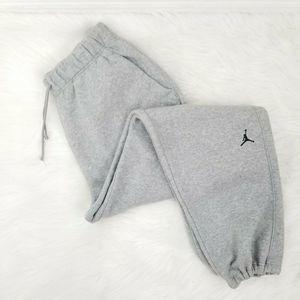 NIKE AIR JORDAN Gray Sweatpants Jogger Jumpman